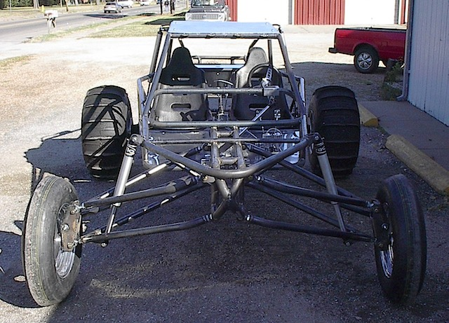 long travel chop top chassis