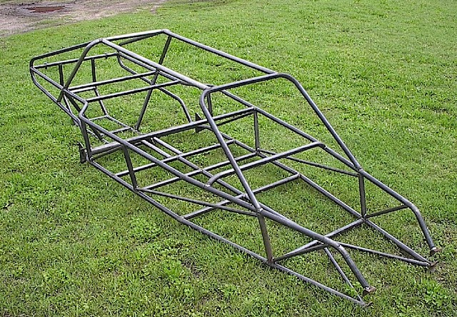 four seat hoop top frame